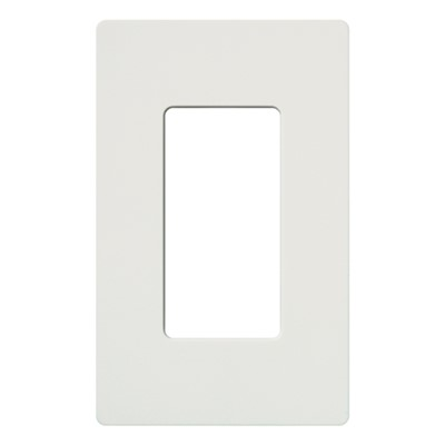 CLARO WALLPLATE 1 GNG WH