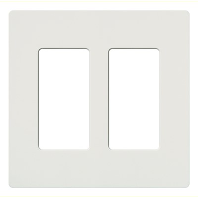 CLARO WALLPLATE 2 GNG WH